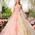 新作カラードレスは春っぽいピンクからイエローのグラデーションカラー NICOLE(ニコル)