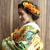 色打掛☆古典柄のカラフルで可愛い和装です「和モダン」♡スポサブランカ大阪店