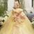 ニコル『NICOLE』黄色 新作カラードレスが入荷しました。スポサブランカ大阪 滋賀 岐阜店