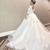 プリンセスラインよりもボリュームのある「ボールガウンドレス」ウエディングドレス