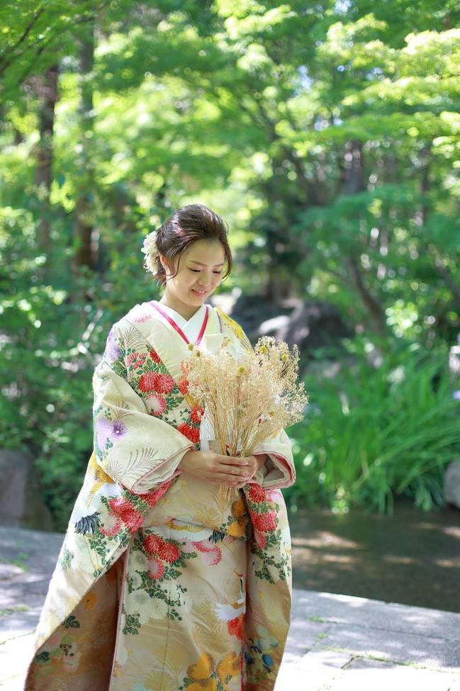 結婚写真 和装 色打掛 ロケーション前撮りレポート 大阪北摂 阪急