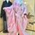 オリジナル和装『彩衣(さいごろも)』ピンクの色打掛にオーガンジーの『お掛け』を重ね着♪