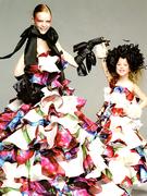 カクテルドレス DRESS33(Dress Camp・ドレスキャンプ)プリント柄