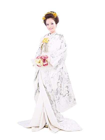 白無垢 銀刺繍が豪華なIKKO