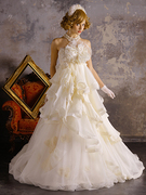 かわいいウェディングドレス