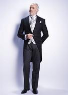 貸衣装・レンタル モーニングコート(お父様)夏専用のサマーモーニングもございます。大阪・滋賀・岐阜店 第一礼装