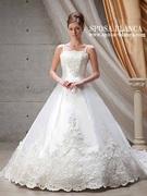 ウェディングドレス シンプル 2way