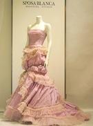 カラードレス パープルのマーメード