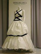 個性派ウェディングドレス(カクテル)