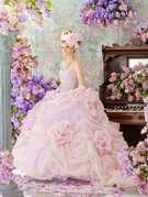 カラードレス ステラ デ リベロ stella de libero 淡いピンク