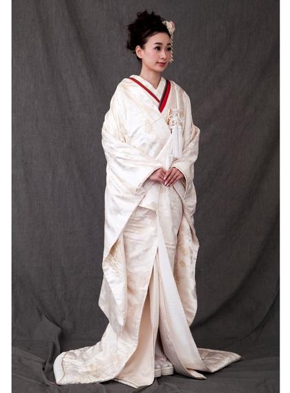 白無垢 金糸 鳳凰
