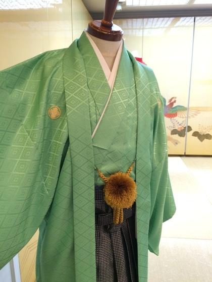 紋付羽織袴 男子成人式等 大阪 丸福