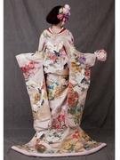 色打ち掛け 和装前撮り ピンク 大阪SPOSA