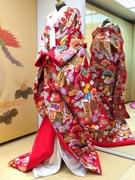 色打掛 レンタル大阪 人気の真紅 赤地