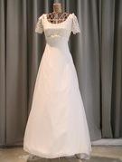カジュアルウエディングドレス(半そで・インポート)