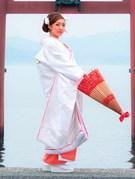 白無垢 色掛下 赤ふき 「和の結婚式」を迎える花嫁様に・・・