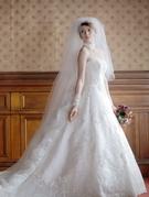 チャペルウエディングドレス