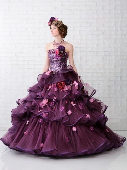 カラードレス ヴィオレット SPOSA大阪 Violett・紫
