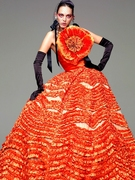 カラードレス DRESS33(Dress Camp・ドレスキャンプ)オレンジ