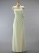 ナチュラル ウェディングドレス (ジョーゼット)