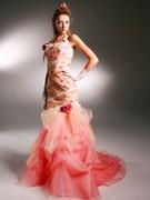 カラードレス ピンクのマーメードライン ステラ デ リベロ stella de libero
