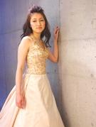 インポートドレス ニュアンスピンク カラードレス