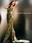 カラードレス マーメイド グリーンのインポートドレス