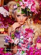 カラードレス パープル シュガーケイの色ドレス