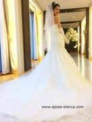 マーメイドドレス 新作ウェディングドレス 2WAY
