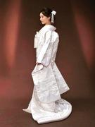 白無垢 大阪丸福(白打掛 神前結婚式・和装の前撮り)
