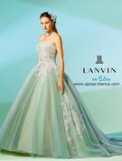 LANVIN en Bleu ランバン オンブルー 新作カラードレス