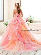 NICOLE ピンクカラードレス (ニコル)