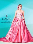 ランバン オン ブルー【LANVIN en Bleu】の新作カラードレス(ピンク)大阪 滋賀 岐阜
