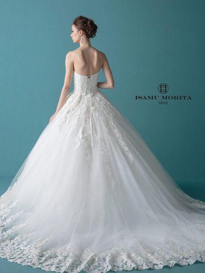 イサム モリタ ISAMU MORITA BRIDE チュール ウェディングドレス