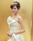 ミキモト ティアラ × マーメイドのウエディングドレス