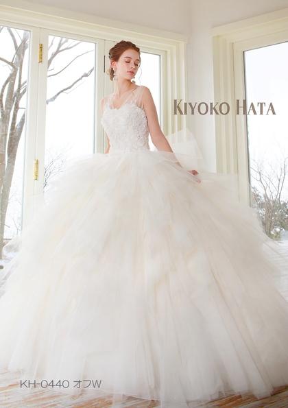 KIYOKO HATA(キヨコハタ)ウェディングドレス チュールドレス