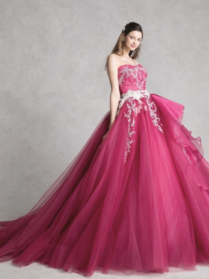 カラードレス メリーストロベリー チェリーピンク