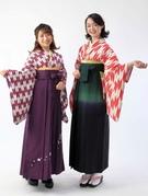 卒業式 女子袴 レンタル着物 着付け小学生もあります 写真撮影 大阪豊中