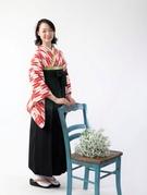 卒業式 着物 矢絣(やがすり)袴 レンタル 写真撮影 大阪 豊中 丸福衣裳店
