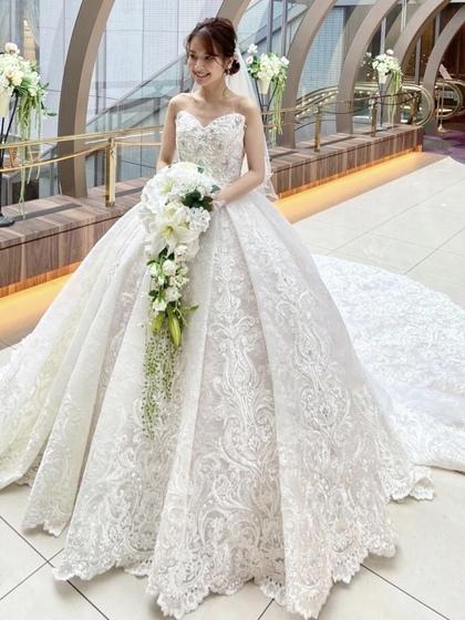 ロイヤルウェディングドレス Mマリアージュ SPOSA BLANCA