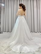 大人っぽいモリ リー(Mori Lee)のウェディングドレス
